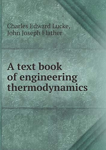 9785518434868: A Text Book of Engineering Thermodynamics