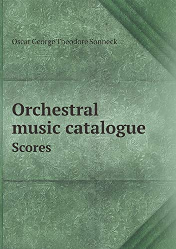 9785518439238: Orchestral music catalogue Scores