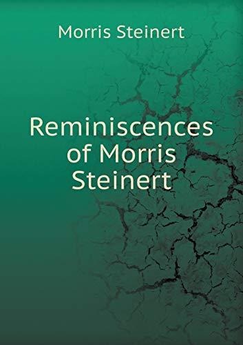 9785518444171: Reminiscences of Morris Steinert