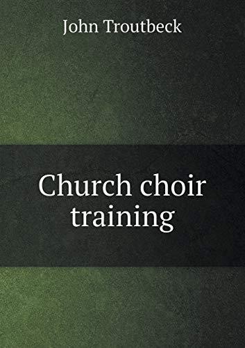 9785518449930: Church choir training