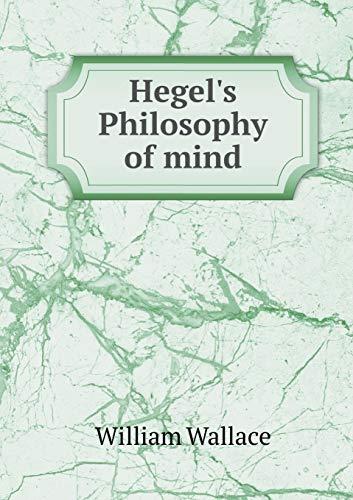 9785518453739: Hegel's Philosophy of mind