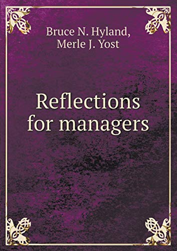9785518502253: Reflections for Managers