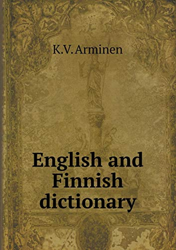 9785518509153: English and Finnish dictionary