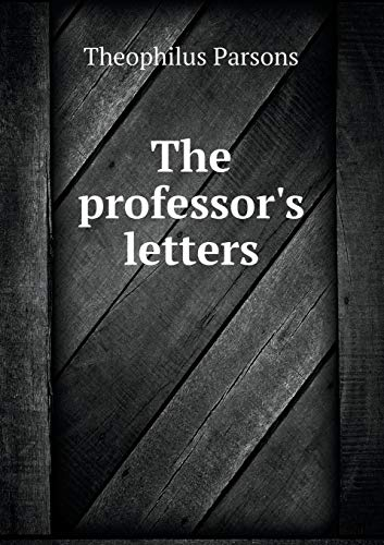 9785518509870: The professor's letters