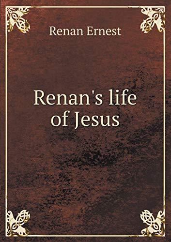 9785518531765: Renan's Life of Jesus