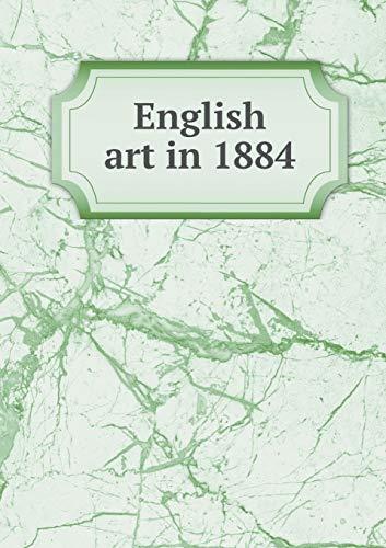 9785518542792: English art in 1884