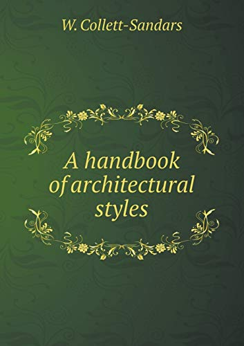9785518545892: A handbook of architectural styles