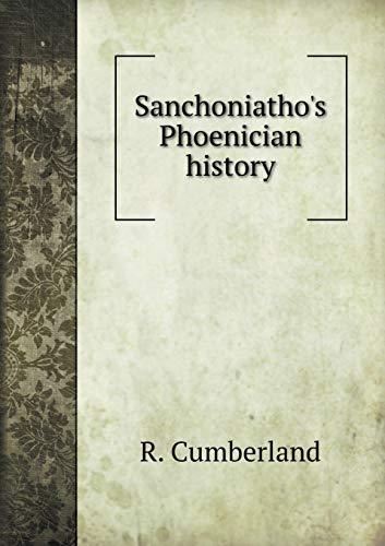 9785518567627: Sanchoniatho's Phoenician history