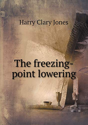 9785518568501: The freezing-point lowering