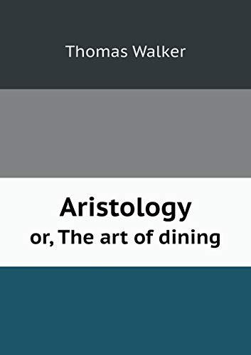 9785518579330: Aristology Or, the Art of Dining