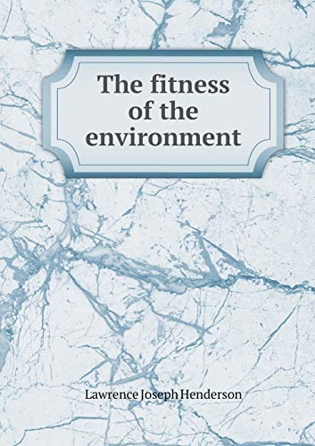 9785518585478: The fitness of the environment