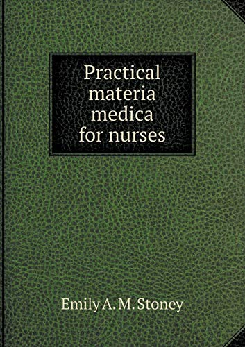 9785518586345: Practical Materia Medica for Nurses