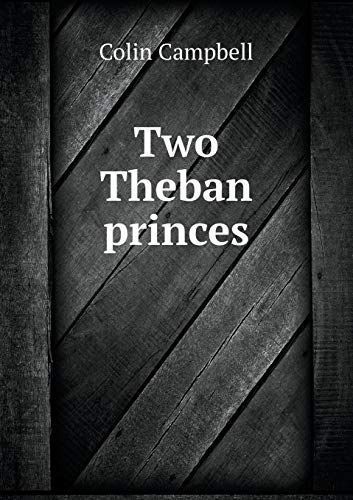 9785518593060: Two Theban Princes