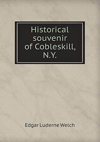 9785518598669: Historical souvenir of Cobleskill, N.Y