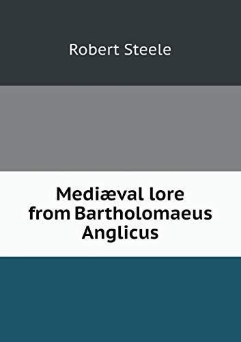 9785518633018: Mediaeval Lore from Bartholomaeus Anglicus