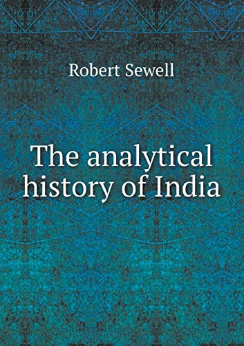 9785518648043: The analytical history of India