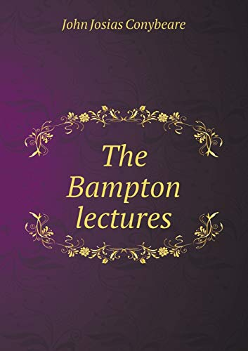 9785518655720: The Bampton Lectures