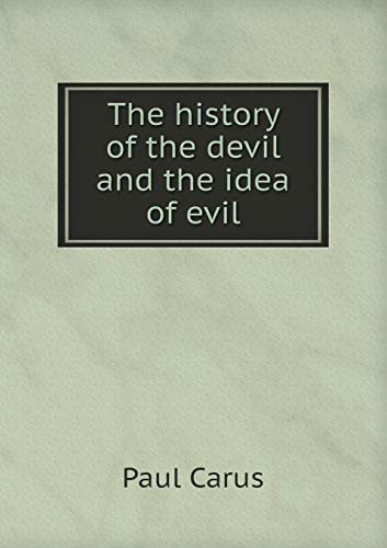 9785518689411: The History of the Devil and the Idea of Evil