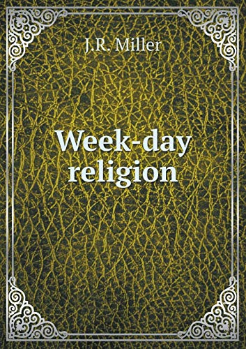 9785518716360: Week-day religion