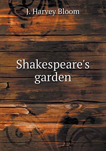 9785518748996: Shakespeare's garden