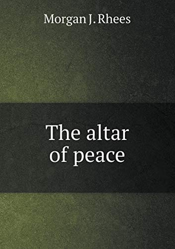 9785518751590: The altar of peace