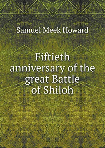 9785518776654: Fiftieth anniversary of the great Battle of Shiloh