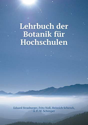 9785518786486: Lehrbuch Der Botanik Fur Hochschulen
