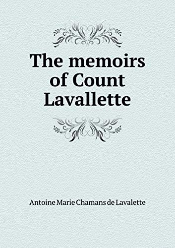 9785518850088: The memoirs of Count Lavallette