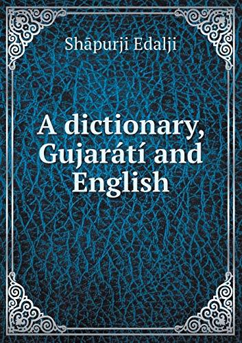 9785518859609: A dictionary, Gujarátí and English