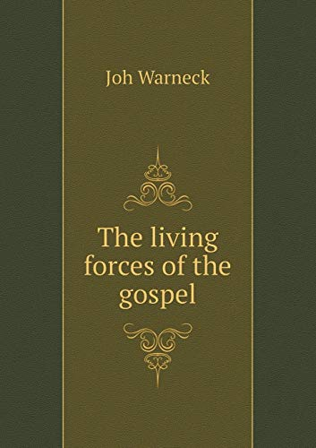 9785518871762: The living forces of the gospel