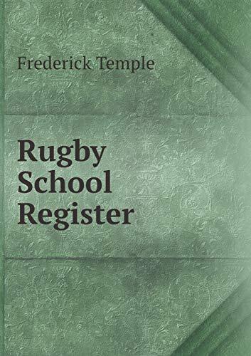 9785518918412: Rugby School Register