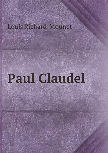 9785518921153: Paul Claudel (French Edition)
