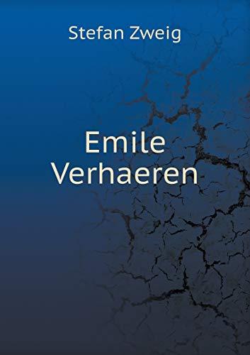 9785518934726: Emile Verhaeren (French Edition)