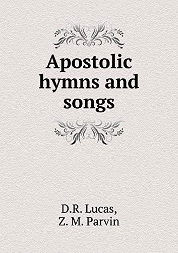 9785518946484: Apostolic hymns and songs