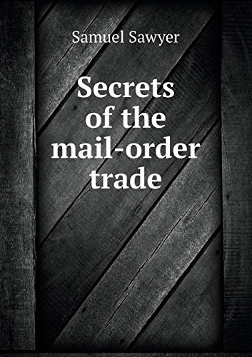 9785518956186: Secrets of the mail-order trade