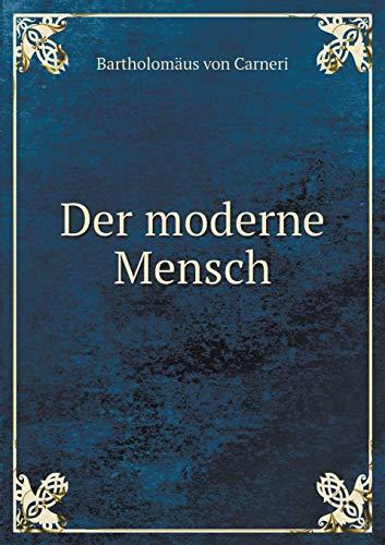 9785518956476: Der Moderne Mensch