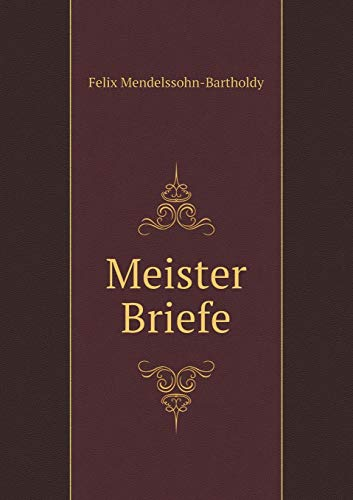 9785518959392: Meister Briefe (German Edition)