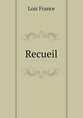 9785518962859: Recueil (French Edition)