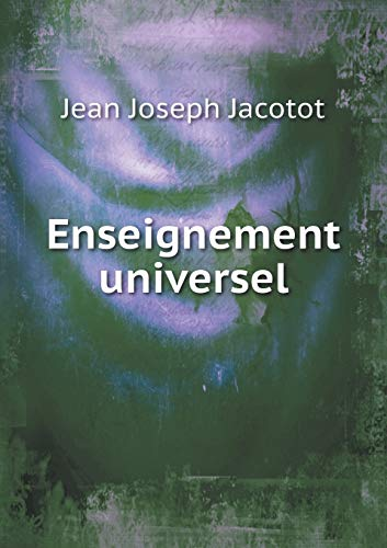 9785518976214: Enseignement universel (French Edition)