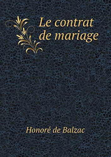 9785518977594: Le Contrat de Mariage