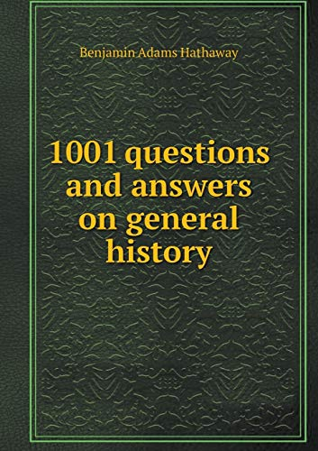 9785518998865: 1001 questions and answers on general history