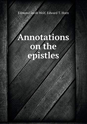 9785519010078: Annotations on the Epistles