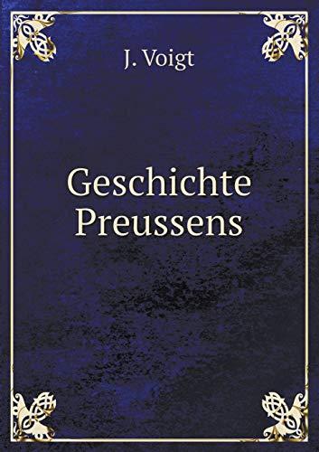 9785519066143: Geschichte Preussens (German Edition)