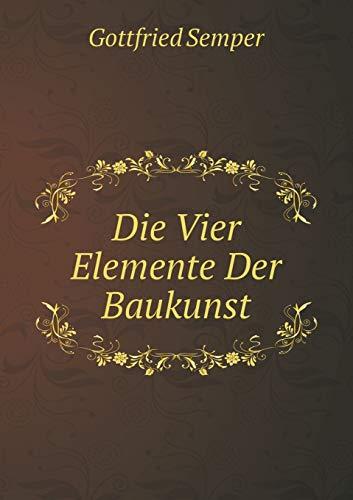 9785519072939: Die Vier Elemente Der Baukunst