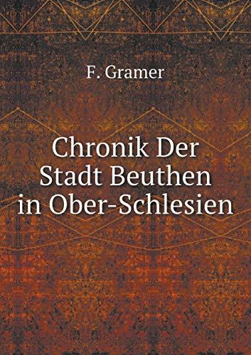 9785519083263: Chronik Der Stadt Beuthen in Ober-Schlesien