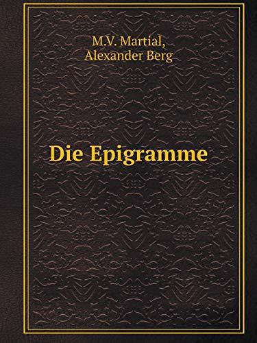 9785519085137: Die Epigramme