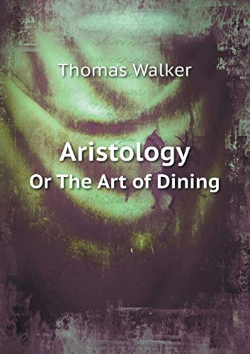 9785519100526: Aristology Or The Art of Dining