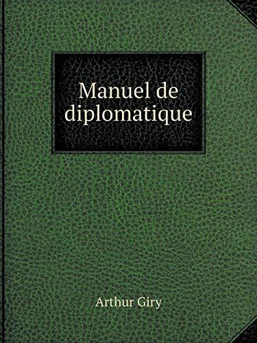 9785519121248: Manuel de diplomatique