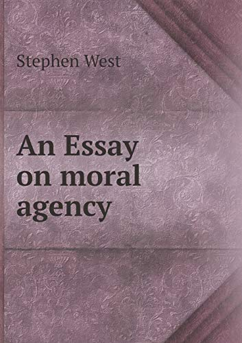 9785519135511: An Essay on moral agency