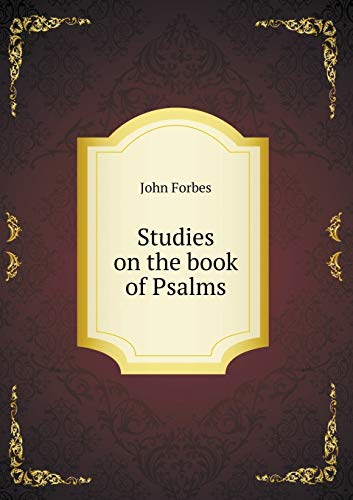 9785519138628: Studies on the book of Psalms